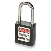 MAS410BLK - MASTER+410+BLACK+SAFETY+LOCKOUT+PADLOCK