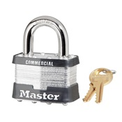 MAS5KAA389 - MASTER+LOCK+5KAA389+KEYED+ALIKED+LAMINATED+STEEL+PADLOCK+1%22+SHACKLE