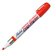MKL96822 - LA-CO+Markal%c2%ae+Valve+Action%c2%ae+96822+Red+Paint+Marker%2c+1%2f8+Inch+Medium+Bullet+Tip