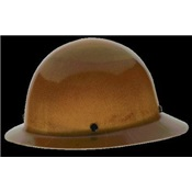 MSA475407 - Mine+Safety+Appliance+Skullgard%c2%ae+475407+Natural+Tan+Phenolic+Full+Brim+Hard+Hat%2c+Fas-Trac%c2%ae+Ratchet
