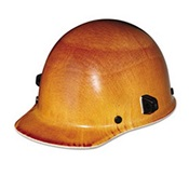 MSA482002 - MSA+NATURAL+TAN+HARD+HAT+CAP+STYLE+W%2fWELDING+LUG+%26+RATCH+SUSP+PHENOLIC+MTL