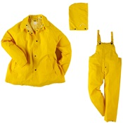 NEE1600S-M - Neese+Industries+1600S+Polyester%2fVinyl+Economy+Rain+Suit%2c+Yellow%2c+Medium%2c+Snap