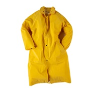 NEE1650C-M - Neese+Industries+1650+PVC+Coated+Polyester+Economy+Rain+Coat%2c+Yellow%2c+Medium%2c+Snap+Front