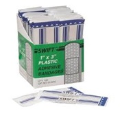 NTH010050 - NORTH+010050+BAND-AIDS+1%22+X+3%22+PLASTIC+STERILE+(100-BX