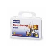 NTH019700-0001L - North+Safety+Products+019700-0001L+10-Person+Bulk+First+Aid+Kit%2c+Plastic+Case