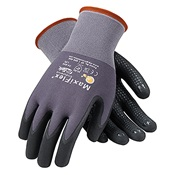 PIP34-844%2fL - PIP+G-Tek%e2%84%a2+Maxiflex%e2%84%a2+34-844+Micro-Foam+Nitrile+Palm+Coated+Gloves%2c+Black%2fGray%2c+Large%2c+8.7+Inch+L
