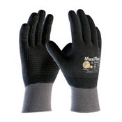 PIP34-846%2fXL - Seamless+Knit+Nylon+Glove+with+Nitrile+Coated+Micro-Foam+Grip+on+Full+Hand+-+Micro+Dot+Palm