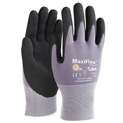 PIP34-874%2fXXL - Seamless+Knit+Nylon+%2f+Lycra+Glove+with+Nitrile+Coated+Micro-Foam+Grip+on+Palm+%26amp%3b+Fingers