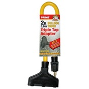 PWCAD050802 - Prime%c2%ae+AD050802+Yellow+Jacket+STOW+Extension+Cord+Adapter%2c+12+AWG%2c+2+ft