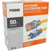 PWCEC511930 - PRIME+EC511930+10%2f3+X+50%27+HEAVY+DUTY+EXTENSION+CORD+LIGHTED+ENDS