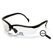PYRSB1810R15 - Pyramex+V2+Readers+SB1810R15+Clear+Polycarbonate+Safety+Glasses%2c+%2b1.5+Strength