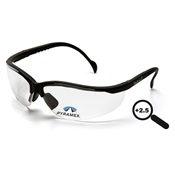 PYRSB1810R25 - Pyramex+V2+Readers+SB1810R25+Clear+Polycarbonate+Safety+Glasses%2c+%2b2.5+Strength