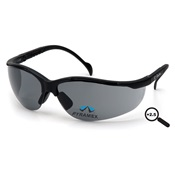 PYRSB1820R25 - Pyramex+V2+Readers+SB1820R25+Gray+Polycarbonate+Safety+Glasses%2c+%2b2.5+Strength