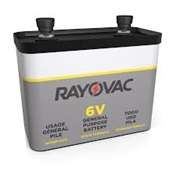 RAY918 - RAYOVAC+918+6-VOLT+ALKALINE+SCREW+TERMINAL+BATTERY