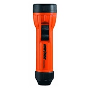 RAYIN2-MS - Rayovac%c2%ae+IN2-MS+Orange+Polypropylene+Incandescent+Flashlight%2c+(2)D+Battery+-+Not+Included