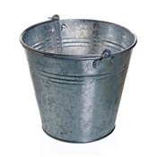 RBMMB10P - ROYAL+B+%26amp%3b+M+MB10P+10+QT+GALVANIZED+METAL+BUCKET+(PAIL)