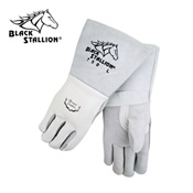REV750L - Revco+Industries+Black+Stallion%c2%ae+750+Top-Grain+Elkskin+Leather+Palm+and+Back+Welding+Gloves%2c+Pearl%2c+Large%2c+14+Inch+L%2c+Reinforced+Thumb