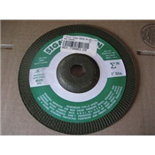 REX730003 - Rex-Cut+Sigma+Green+730003+36+Coarse+Grit+AlO2+Type+27+Depressed+Center+Grinding+Wheel%2c+7+Inch+x+7%2f8+Inch