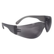 RPGMR0120ID - Radians%c2%ae+Mirage%e2%84%a2+MR0120ID+Smoke+Polycarbonate+Frameless+Wraparound+Safety+Glasses