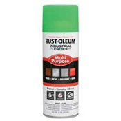 RUS1632830 - Rust-Oleum%c2%ae+Industrial+Choice%c2%ae+1632830+12+oz+Aerosol+Can+Solvent+Based+Multi-Purpose+Alkyd+Enamel+Spray+Paint%2c+Gloss+Fluorescent+Green