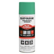 RUS1633830 - Rust-Oleum%c2%ae+Industrial+Choice%c2%ae+1633830+12+oz+Aerosol+Can+Solvent+Based+Multi-Purpose+Alkyd+Enamel+Spray+Paint%2c+Gloss+Safety+Green