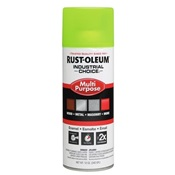 RUS1642830 - RUSTOLEUM+1642+INDUSTRIAL+FLUORESCENT+YELLOW+SPRAY+PAINT
