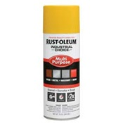 RUS1644830 - Rust-Oleum%c2%ae+Industrial+Choice%c2%ae+1644830+12+oz+Aerosol+Can+Solvent+Based+Multi-Purpose+Alkyd+Enamel+Spray+Paint%2c+Gloss+Safety+Yellow