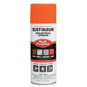 RUS1654830 - Rust-Oleum%c2%ae+Industrial+Choice%c2%ae+1654830+12+oz+Aerosol+Can+Solvent+Based+Multi-Purpose+Alkyd+Enamel+Spray+Paint%2c+Gloss+Fluorescent+Orange