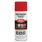 RUS1660830 - Rust-Oleum%c2%ae+Industrial+Choice%c2%ae+1660830+12+oz+Aerosol+Can+Solvent+Based+Multi-Purpose+Alkyd+Enamel+Spray+Paint%2c+Gloss+Safety+Red