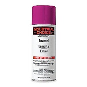 RUS1670830 - Rust-Oleum%c2%ae+Industrial+Choice%c2%ae+1670830+12+oz+Aerosol+Can+Solvent+Based+Multi-Purpose+Alkyd+Enamel+Spray+Paint%2c+Gloss+Safety+Purple