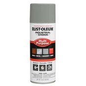 RUS1684830 - Rust-Oleum%c2%ae+Industrial+Choice%c2%ae+1684830+12+oz+Aerosol+Can+Solvent+Based+Multi-Purpose+Alkyd+Enamel+Spray+Paint%2c+Gloss+Dove+Gray