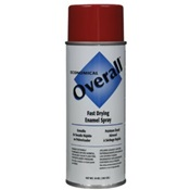 RUSV2407830 - Rust-Oleum%c2%ae+Overall%c2%ae+V2407830+10+oz+Aerosol+Can+Solvent+Based+General+Purpose+Fast+Drying+Enamel+Spray+Paint%2c+Gloss+Red