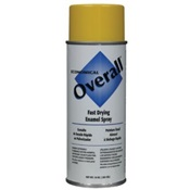 RUSV2409830 - Rust-Oleum%c2%ae+Overall%c2%ae+V2409830+10+oz+Aerosol+Can+Solvent+Based+General+Purpose+Fast+Drying+Enamel+Spray+Paint%2c+Gloss+Yellow