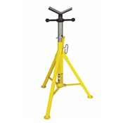 SUM780375 - Sumner+780375+Yellow+Heavy-Duty+Hi+Jack+Stand+With+V-Head%2c+2500+lb+Load+Capacity%2c+24+Inch+Pipe+Diameter