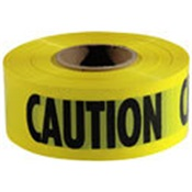 TAPECAUTION - TapMagic+ECAUTION+Caution+Safety+Tape%2c+Yellow%2c+Black+Legend%2c+3+Inch+x+1000+ft