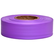 TAPEFLAGP - Purple+Flagging+Tape%2c+1-3%2f16%26quot%3b+Wide+2+Mil%2c+300%26%2339%3b