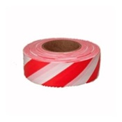 TAPEFLAGRED%2fWHT - Red+and+White+Stripe+Flagging+Tape%2c+1-3%2f16%26quot%3b+Wide+2+Mil%2c+300%26%2339%3b
