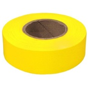 TAPEFLAGY - Yellow+Flagging+Tape%2c+1-3%2f16%26quot%3b+Wide+2+Mil%2c+300%26%2339%3b
