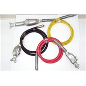 TEXTX-3HW - Texas+Pneumatic+Tools+TX-3HW+Hose+Whip+Assembly%2c+300+psi%2c+6+ft+L+x+1%2f2+Inch+W