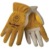 TIL1464L - TILLMAN+1464L+Large+(L)+Cowhide+%26ndash%3b+Shoulder+Split+Cowhide+%26ndash%3b+Top+Grain+Standard+DRIVERS+Gloves
