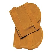 TIL562 - Tillman%e2%84%a2+562+Standard+Knee+Pad%2c+Brown%2c+Side+Split+Cowhide+Leather+Pad