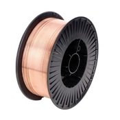 TNW70S603533 - Techniweld+Copper+Coated+Solid+ER70S-6+Mild+Steel+Welding+Wire%2c+0.035+Inch+dia.%2c+33+lb+Spool