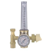 VIC0781-2723 - Victor%c2%ae+CutSkill%c2%ae+0781-2723+Machined+Brass+3-Gas+Light+Duty+Single+Stage+HRF+1400+Flowmeter%2c+CGA-580%2c+Up+to+50+cfh+Argon