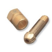 WES15-3 - Western%c2%ae+15-3+Brass+Regulator+Nipple%2c+1%2f4+Inch+Male+NPT%2c+3+Inch+L