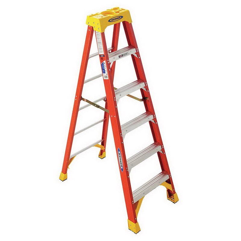 R D Werner Co 6 Werner Type 1a Step Ladders 6206 Wer6206