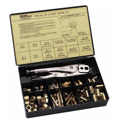 Ck Tools: Western Ck-5 Hose Repair Kit With C-5 Hand Grip Crimping