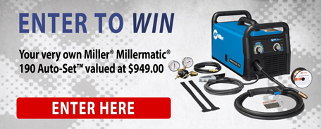 Enter to win a Millermatic 190 Auto-Set.