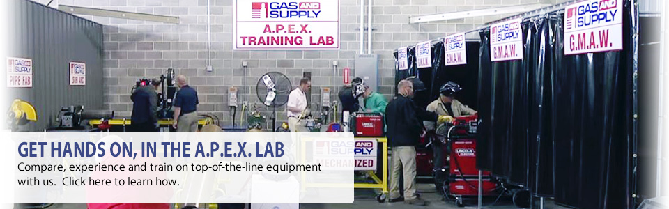 Get hands on, in the Apex lab. Compare, experience and train on top-of-the-line equipment with us.