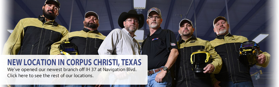 We've opened our newest branch in Corpus Christi. Check out our other locations here.